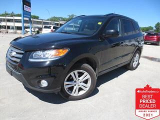 Used 2012 Hyundai Santa Fe Limited 3.5 AWD - Leather/Sunroof/Remote Start for sale in Winnipeg, MB