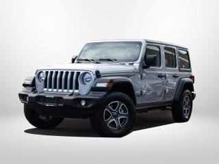 Used 2020 Jeep Wrangler Unlimited for sale in Surrey, BC