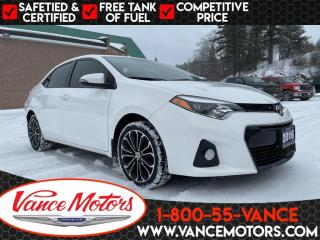 Used 2016 Toyota Corolla S...BRAND NEW WINTER TIRES & BRAKES! for sale in Bancroft, ON
