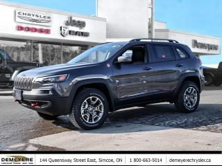 New 2021 Jeep Cherokee TRAILHAWK ELITE | NO PAYMENTS FOR 3 MONTHS,OAC for sale in Simcoe, ON