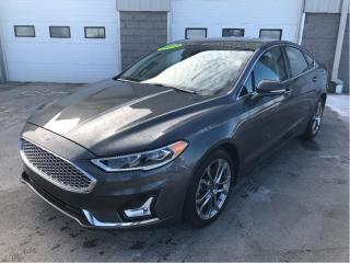 Used 2020 Ford Fusion Hybrid Hybrid Titanium with Adaptive Cruise for sale in Kentville, NS