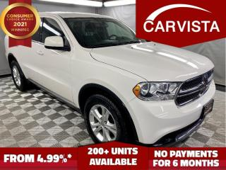 Used 2012 Dodge Durango SXT -7 PASSENGER/TOW PACKAGE- for sale in Winnipeg, MB