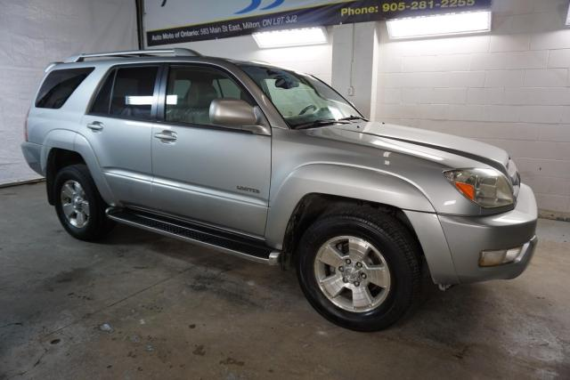 2003 Toyota 4Runner LIMITED 4WD *FREE ACCIDENT* SUNROOF HEATED LEATHER CRUISE ALLOYS