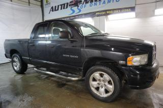 Used 2005 Dodge Ram 1500 V8 HEMI MAGNUM ALLOYS CRUISE RUNNING BOARD BED LINER FOG LIGHTS for sale in Milton, ON