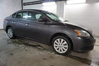 Used 2015 Nissan Sentra S CERTIFIED 2YR WARRANTY BLUETOOTH CRUISE AUX POWER OPTIONS for sale in Milton, ON