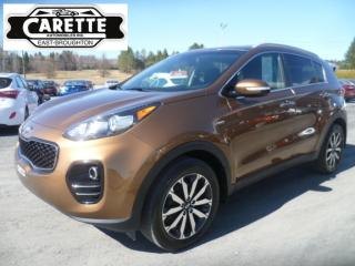 Used 2017 Kia Sportage EX AWD for sale in East broughton, QC