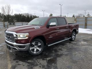 Used 2019 RAM 1500 Laramie CREW 4WD for sale in Cayuga, ON