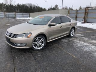 Used 2015 VW PASSAT TDI HIGHLINE for sale in Cayuga, ON