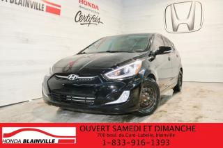 Used 2016 Hyundai Accent Voiture à hayon, 5 portes, boîte automat for sale in Blainville, QC
