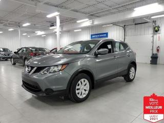 Used 2017 Nissan Qashqai S - CAMERA + JAMAIS ACCIDENTE !!! for sale in St-Eustache, QC