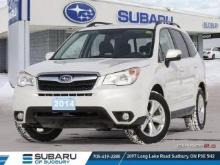 Used 2014 Subaru Forester Limited - SYMMETRICAL AWD - LEATHER - HEATED SEATS ! for sale in Sudbury, ON