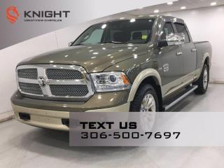 Used 2015 RAM 1500 Longhorn Crew Cab | Leather | Sunroof | Navigation | for sale in Regina, SK