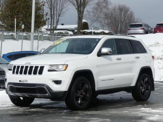 Used 2016 Jeep Grand Cherokee LIMITED 4X4 CUIR TOIT PANORAMIQUE for sale in St-Georges, QC