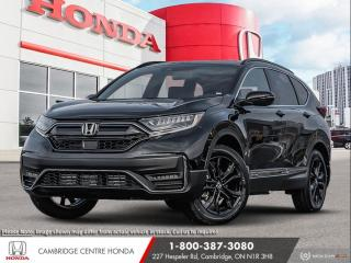 New 2021 Honda CR-V Black Edition GPS NAVIGATION | REMOTE STARTER | APPLE CARPLAY™ & ANDROID AUTO™ for sale in Cambridge, ON