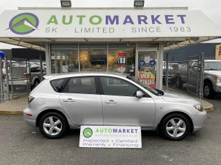 Used 2008 Mazda MAZDA3 GX I SPORT HATCHBACK LOW KM'S BODYMAN'S SPECIAL! FREE BCAA & WRNTY for sale in Langley, BC