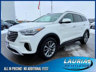 Used 2018 Hyundai Santa Fe XL V6 AWD Premium - 7 Passenger for sale in Port Hope, ON