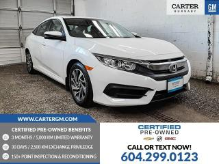 Used 2016 Honda Civic EX for sale in Burnaby, BC