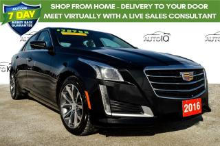 Used 2016 Cadillac CTS 3.6L Luxury Collection 2 NEW SETS OF TIRES for sale in Grimsby, ON