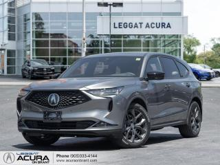New 2022 Acura MDX A-Spec A-SPEC | TRAFFIC JAM ASSIST | WIRELESS CHARING | COOLED SEATS for sale in Burlington, ON