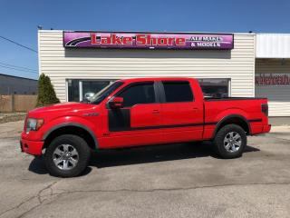 Used 2011 Ford F-150 FX4 LEATHER for sale in Tilbury, ON