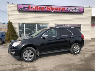 Used 2012 Chevrolet Equinox 2LT HEATED SEATS for sale in Tilbury, ON