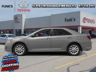 Used 2014 Toyota Camry 4DR SDN I4 AUTO LE  - Low Mileage for sale in Steinbach, MB