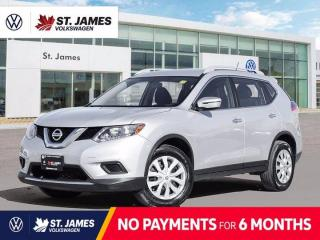 Used 2016 Nissan Rogue S, LOCAL ONE OWNER, KEYLESS ENTRY, BACKUP CAMERA for sale in Winnipeg, MB