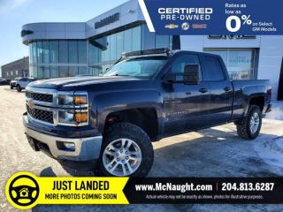 Used 2014 Chevrolet Silverado 1500 LT 4x4 Double Cab | Lift Kit | Magnaflow for sale in Winnipeg, MB