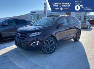 Used 2018 Ford Edge Sport AWD | Heated & Cooled Seats | Sony Audio for sale in Winnipeg, MB