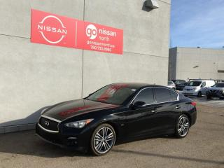 Used 2016 Infiniti Q50 3.0t / Leather / Heated Seats / Huge Touch Screen / Heated Seats for sale in Edmonton, AB