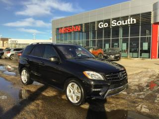 Used 2014 Mercedes-Benz ML-Class ML550, 4MATIC, NAVIGATION, LEATHER for sale in Edmonton, AB