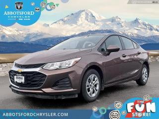 Used 2019 Chevrolet Cruze LS  - Apple CarPlay -  Android Auto - $142 B/W for sale in Abbotsford, BC