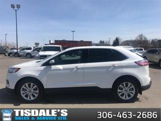 New 2021 Ford Edge Titanium  - Leather Seats -  Heated Seats for sale in Kindersley, SK