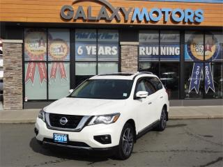 Used 2019 Nissan Pathfinder Platinum for sale in Courtenay, BC