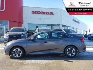 Used 2017 Honda Civic LX Heated Seats - Bluetooth - Back-up Cam - Apple CarPlay - Android Auto for sale in Winnipeg, MB