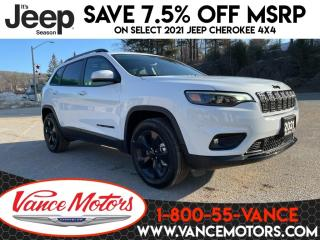 New 2021 Jeep Cherokee Altitude 4X4...LEATHER*SUNROOF*HTD SEATS! for sale in Bancroft, ON