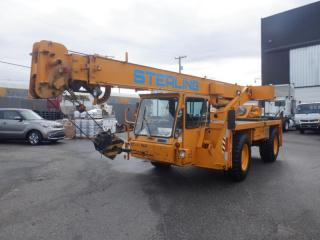 Used 2000 TEREX Commercial Crane CD118 Diesel for sale in Burnaby, BC