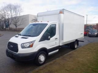 Used 2015 Ford Transit Cube Van T-350 HD 15 Foot Dually With Ramp for sale in Burnaby, BC