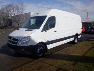 Used 2008 Dodge Sprinter 3500 170-inch Wheelbase High Roof  Cargo Van Extended Diesel for sale in Burnaby, BC