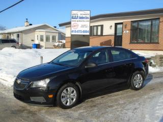 Used 2012 Chevrolet Cruze Lt turbo avec 1sa for sale in Ancienne Lorette, QC
