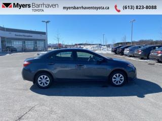 Used 2016 Toyota Corolla CE  - Bluetooth -  Power Windows - $65 B/W for sale in Ottawa, ON