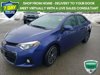 Used 2016 Toyota Corolla S Package - Alloy Wheels & Moonroof for sale in Welland, ON