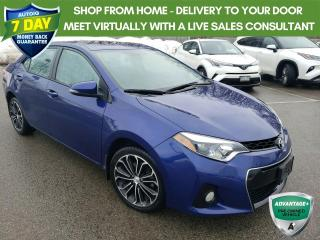 Used 2016 Toyota Corolla S Package - Alloys| Moonroof +++ for sale in Welland, ON