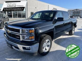 Used 2015 Chevrolet Silverado 1500 Crew 4x4 LT / Short Box Z71 4x4 - Trailer Package for sale in Steinbach, MB