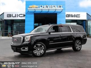 Used 2019 GMC Yukon XL Denali DENALI ULTIMATE PACKAGE | 6.2L V8 | REAR ENTERTAINMENT for sale in Burlington, ON