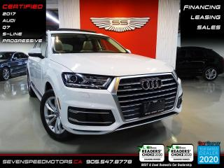 Used 2017 Audi Q7 PROGRESSIV | CARFAX CLEAN | CERTIFIED | FINANCE | 9055478778 for sale in Oakville, ON