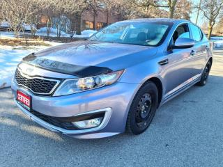 Used 2011 Kia Optima 4dr Sdn Hybrid Back Up Cam Extra Tire LOW KM! for sale in Mississauga, ON