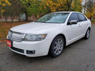 Used 2009 Lincoln MKZ 4dr Sdn AWD   GPS Navi   Remote Start for sale in Mississauga, ON