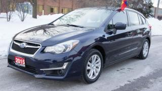 Used 2015 Subaru Impreza 5dr HB Man 2.0i w/Limited Pkg for sale in Mississauga, ON