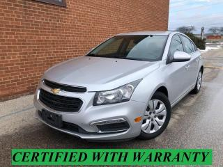 Used 2015 Chevrolet Cruze NO ACCIDENTS /LT for sale in Oakville, ON